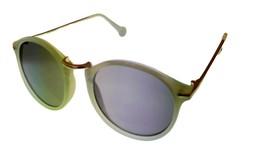 Converse Men Sunglass Round Green Gold Fashion Plastic, Smoke Lens H076 - $22.49
