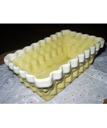 Yellow Basket Vintage Pottery-UPCO-Ungemach Pottery - $39.99
