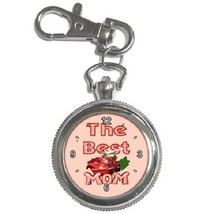 Best Mom Rose Key Chain Pocket Watch Gift model 36028262 - $13.99
