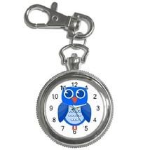 Cute Owl Cartoon Key Chain Pocket Watch Gift model 39158436 - $13.99