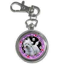 Dog Breed Westie Key Chain Pocket Watch Gift model 17549597 - $13.99