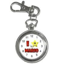 I star Mario Key Chain Pocket Watch Gift model 16867205 - $13.99
