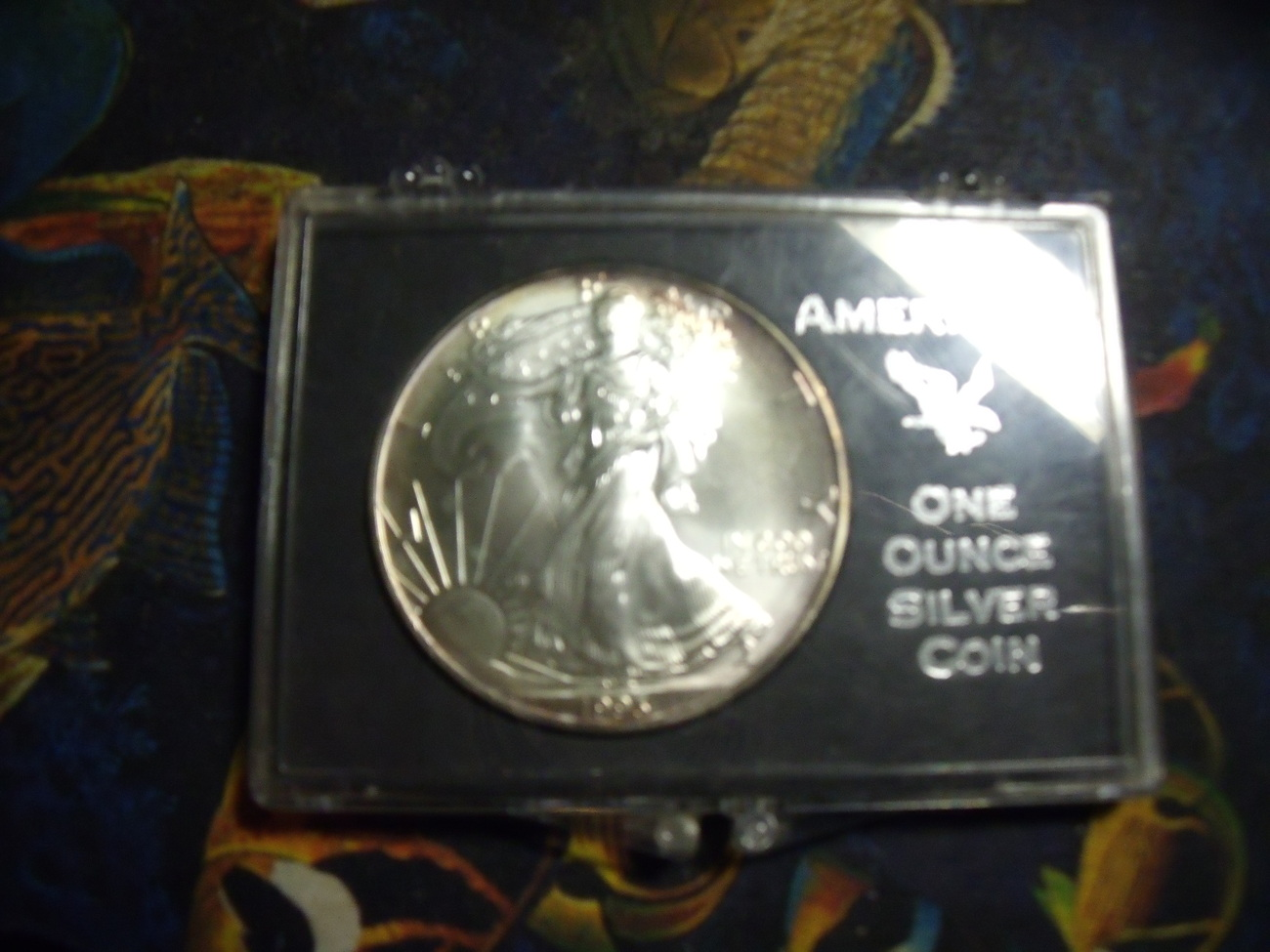 1993 Walking Liberty Uncirculated Silver Dollar Coin