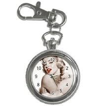Marilyn Monroe Key Chain Pocket Watch Gift model 39159122 - $13.99