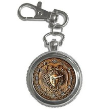Medusa's Head With The Snakes Key Chain Pocket Watch Gift model 39159119 - $13.99