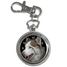 Siberian Husky Key Chain Pocket Watch Gift model 17637824 - $13.99