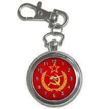 Soviet Union Flag Key Chain Pocket Watch Gift model 39158445 - $13.99