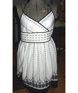 Ann Taylor White Embroidered Sun Dress-Size 6 - $62.00