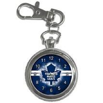 Toronto Maple Leafs Hockey Key Chain Pocket Watch Gift model 39159115 - $13.99