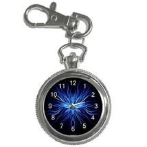 Weird Blue Key Chain Pocket Watch Gift model 26398529 - $13.99