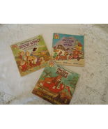 24 Page Read Along Books Walt Disney's 3 Soft Cover Books 1981 Fox/Snow ... - $6.50