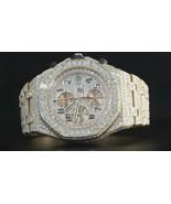 30 carats iced out CUSTOM diamond royal oak AP ... - $63,756.00