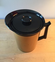 Vintage 70s Thermo-Serv 55oz insulated coffee thermos pitcher image 2