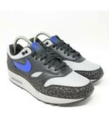 Nike Air Max 1 Se Reflektierend 3M Safari Hyper Blau Atmos Grau Lauf BQ6... - $140.74