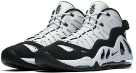 NIKE AIR MAX UPTEMPO 97 WHITE/BLACK SIZE 10.5 NEW FAST SHIPPING (399207-101) image 2