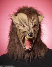 Deluxe Werewolf Dark World Latex Full Overhead Mask Halloween Costume Accessory - $27.73