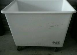 R&B Wire General Purpose Linen Cart Poly Truck 10 Bushel Capacity HEAVY ... - $242.35