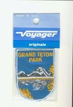 Voyager Grand Teton Park WY Wyoming New Souvenir Patch - $8.86