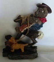 Ganz Cottage Collectibles - Round'em Up Bear - 1995'  - (D) - $29.95