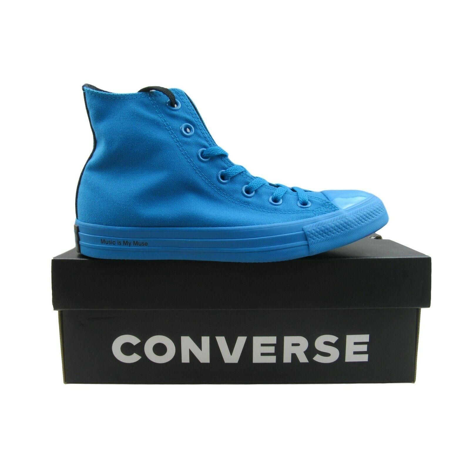Converse x OPI Chuck Taylor All Star HI Mens Size 6 / Womens Size 8 Blue 165659C - $59.35