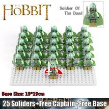 26pcs/set Ghost Army The Lord of the Rings Army of the Dead Lego Minifigure Toys - $34.99