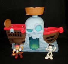 Jake And The Neverland Pirates Battle At Shipwreck Falls Ship 2013 Mattel Disney - $29.68
