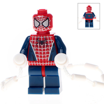 Spider-Man Minifigures Toy Custom Minifig Building Block Brick Superheroes - $3.79