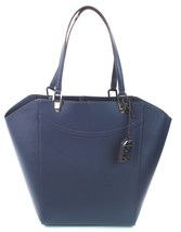 Ralph Lauren Lexington Faux Leather Tote Shoulder Bag Marine Blue RRP £165 - $150.28