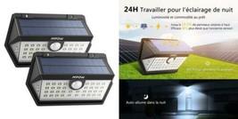 [Nouvelle Génération] Mpow Lampe Solaire Extérieur 2 Pack 40 LED Spot...  - $47.92