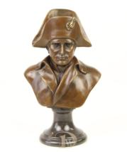 Antique Home Decor Bronze Sculpture shows Napoleon Bonaparte, signed * Free Air  - $229.00