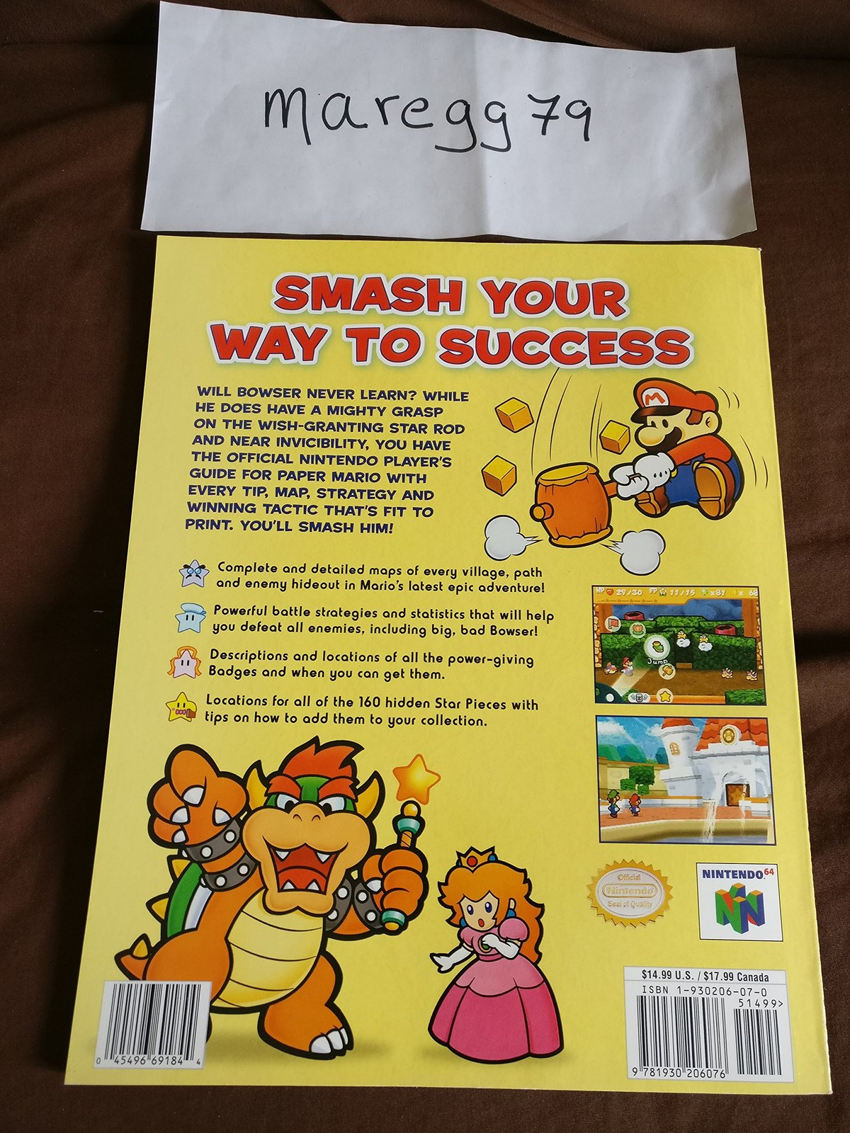Paper Mario: The Official Players Guide [Paperback] [Jan 01, 2001] George Sinfie
