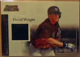 2004 Bowman Sterling # Dw David Wright Au Jsy - $37.28