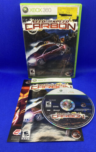 Primary image for Need for Speed: Carbon (Microsoft Xbox 360, 2006) CIB Complete, Tested!