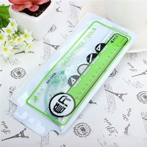 New 4 Pcs Catoon Rulers Set For Home Office Scool Student Drawing Random - $3.34