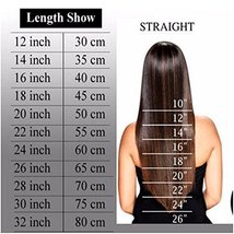 """24"""" Remy Clip in on Hair Extensions Remy Human Hair Standard Weft 80g 8 Pcs 18 C image 8"""