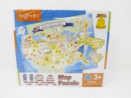 Ingenio USA Map Puzzle 64 Pc - $15.19