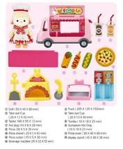 Konggi Rabbit Gurmi Sheep Food Truck Kitchen Doll Toy Roleplay Playset image 2