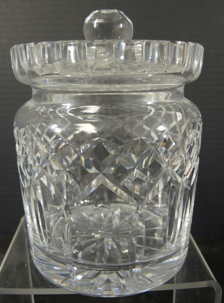 Primary image for Waterford Irish Crystal Biscuit Barrel * Lismore Pattern