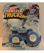 2018 HOT WHEELS MONSTER TRUCKS BLIZZARD BASHERS FLAG SERIES - TOWN HAULE... - $8.95