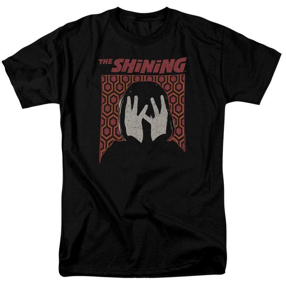 The Shining t-shirt Stephen Kings retro 80's horror graphic cotton tee WBM734
