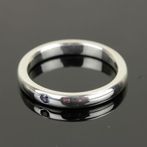 Auth Tiffany & Co. Silver 925 Ring w/Color Stone USsize 5.0 EXCELLENT #8... - $128.70