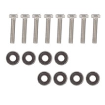 Xtremeamazing 8 Pack Coils Stainless Steel Bolt Screws Kit For 4.6 & 5 - $21.99