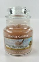 Yankee Candle Cinnamon Vanilla 3.7 OZ Brand New Rare  - $21.78