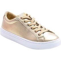 Guess Jaida Low Quarter Gold Sneakers - $49.00