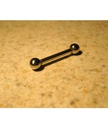 TONGUE BARBELLS BODY PIERCING JEWELRY 5/8 IN #548B - $4.99