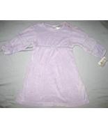 Marshall Field's Baby dress sz 18 mos lavender velour NEW  - $9.00