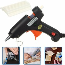 Electric 20W Hot Melt Art Craft Glue Gun with 50Pcs Free Mini Clear Glue... - $15.10