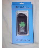 """Tuari"" ipod black nano case with shamrock on t... - $6.99"