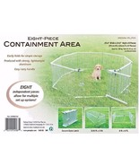 Lightweight Aluminum Folding Dog Pen / Containment MSRP $250 - £143.30 GBP