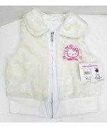 2007 Hello Kitty Reversible Vest Jacket Faux Fur/Vinyl Coat Size: XS - $13.76
